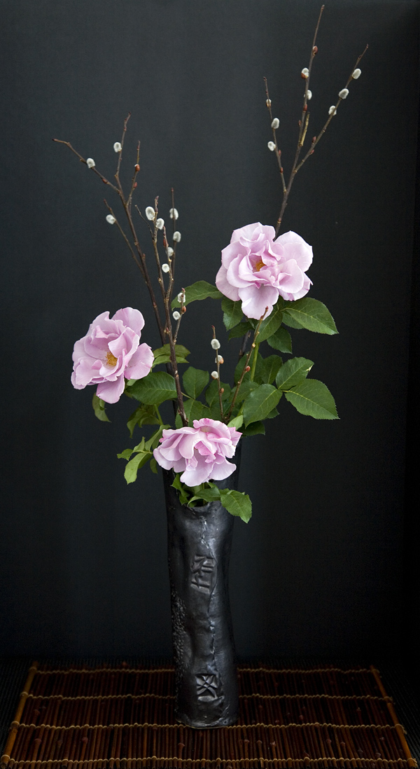 Photo of a Pink Rose in a Vase