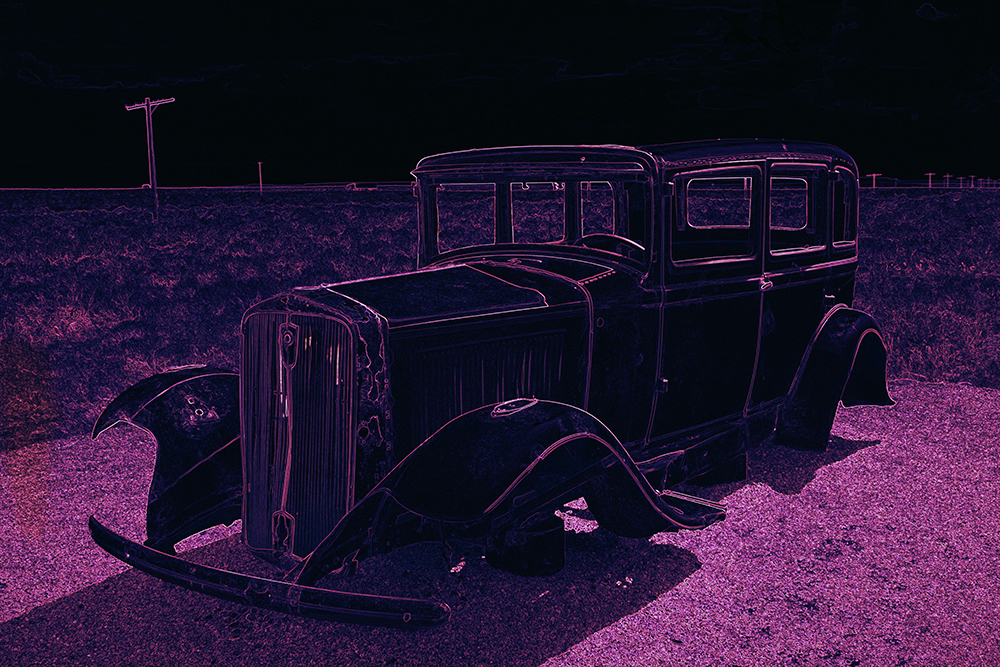 Photo of old car