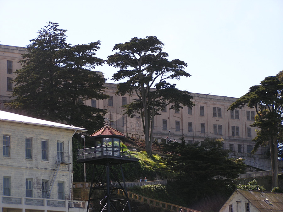 Photo of Alcatraz Prison, California