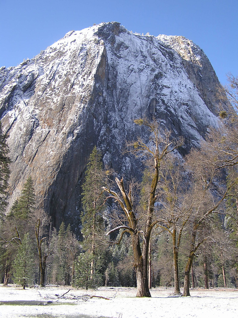 Yosemite Park Mountains