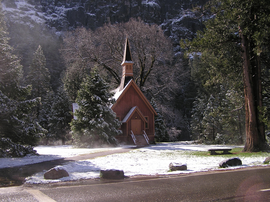 Church in Yosemite