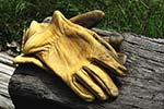 Raw Hide Work Gloves